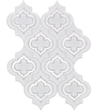 SO - MOSAIC JET EMBLEM SUPER WHITE FROSTED SILVER DUST LINE