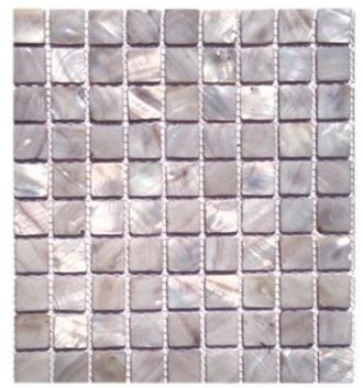 SO - PEARL MIST GRAY FLAT SQUARES
