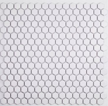 SO - SIMPLE HEX SOLID MATTE WHITE